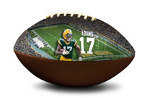 Davante Adams #17 Green Bay Packers NFL Full Size Official Licensed Football