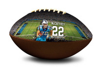 Christian McCaffrey Carolina Panthers NFL Full Size Official Licensed Football