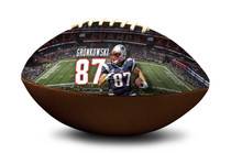 Rob Gronkowski #87 New England Patriots NFL Full Size Official Licensed Football