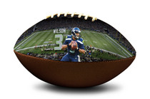 Russell Wilson #3 Seattle Seahawks NFL Full Size Official Licensed Football