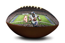 Deshaun Watson #4 Houston Texans NFL Full Size Official Licensed Football