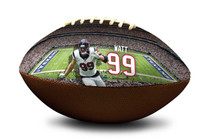 JJ Watt #99 Houston Texans NFL Full Size Official Licensed Football