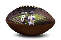 Kirk Cousins #8 Minnesota Vikings NFL Full Size Official Licensed Football