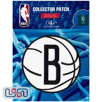 Brooklyn Nets NBA Official Licensed Alternate Team Logo Iron Sewn On Patch