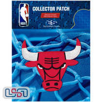 Chicago Bulls NBA Official Licensed Alternative Team Logo Iron Sewn On Patch