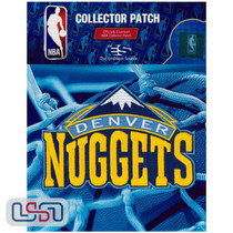 Denver Nuggets NBA Official Licensed Primary 2017 Team Logo Iron Sewn Patch