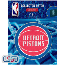 Detroit Pistons NBA Official Licensed Primary Team Logo Iron Sewn On Patch