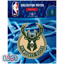 Milwaukee Bucks NBA Official Licensed Primary Team Logo Iron Sewn On Patch