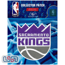Sacramento Kings NBA Official Licensed Primary Team Logo Iron Sewn On Patch