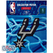 San Antonio Spurs NBA Official Licensed Alternate Team Logo Iron Sewn On Patch