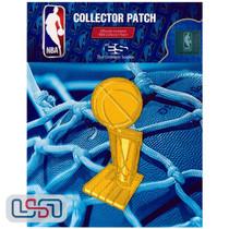 Larry O'Brien Trophy NBA Logo Jersey Sleeve Patch Licensed