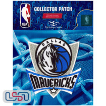 Dallas Mavericks NBA Official Licensed Primary Team Logo Iron Sewn On Patch