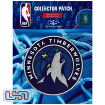 Minnesota Timberwolves NBA Official Licensed Global Team Logo Iron Sewn On Patch