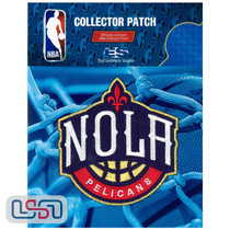 New Orleans Pelicans NBA Official Licensed Secondary Team Logo Iron Sewn Patch