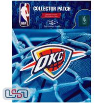 Oklahoma City Thunder NBA Official Licensed Wordmark Team Logo Iron Sewn Patch