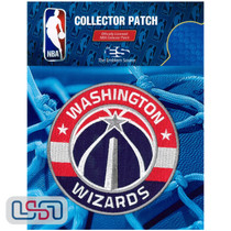 Washington Wizards NBA Official Licensed Primary Team Logo Iron Sewn On Patch