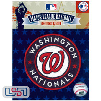Washington Nationals Primary Team MLB Logo Jersey Sleeve Patch Licensed