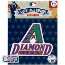 Arizona Diamondbacks Primary Team MLB Logo Jersey Sleeve Patch Licensed
