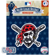 Pittsburgh Pirates Primary Team MLB Logo Jersey Sleeve Patch Licensed