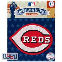 "Cincinnati Reds ""C"" MLB Logo Jersey Sleeve Patch Licensed"