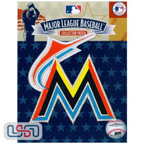 """Miami Marlins """"M"""" Letter Team MLB Logo Jersey Sleeve Patch Licensed"""