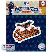 Baltimore Orioles Primary Bird Team MLB Logo Jersey Sleeve Patch Licensed