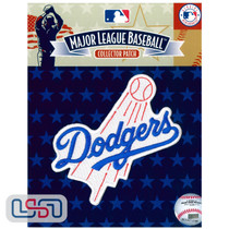 Los Angeles Dodgers Primary Team MLB Logo Jersey Sleeve Patch Licensed