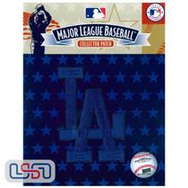 "Los Angeles Dodgers Blue ""LA"" Team MLB Logo Jersey Sleeve Patch Licensed"