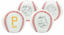 Pittsburgh Pirates 2018 Rawlings Team Roster MLB Replica Autograph Baseball