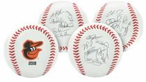 Baltimore Orioles 2018 Rawlings Team Roster MLB Replica Autograph Baseball