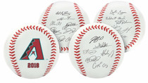 Arizona Diamondbacks 2018 Rawlings Team Roster MLB Replica Autograph Baseball