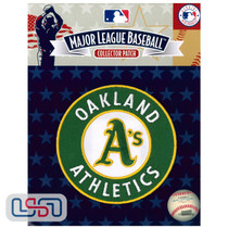 Oakland Athletics Primary Team MLB Logo Jersey Sleeve Patch Licensed