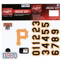 Pittsburgh Pirates MLB Baseball Batting Helmet Rawlings Decal Kit