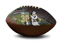 Todd Gurley #30 Los Angeles Rams NFL Full Size Official Licensed Football