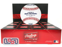 (12) Cincinnati Reds 150th Anniversary Primary Rawlings Baseball Boxed - Dozen