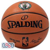 Boston Celtics Spalding NBA Licensed I/O Full Size Team Logo Basketball