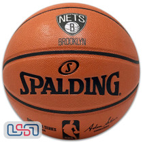Brooklyn Nets Spalding NBA Licensed I/O Full Size Team Logo Basketball