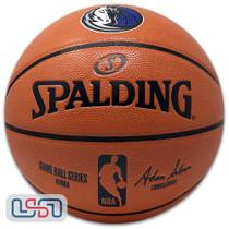 Dallas Mavericks Spalding NBA Licensed I/O Full Size Team Logo Basketball