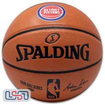 Detroit Pistons Spalding NBA Licensed I/O Full Size Team Logo Basketball