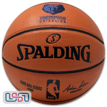 Memphis Grizzlies Spalding NBA Licensed I/O Full Size Team Logo Basketball
