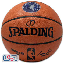 Minnesota Timberwolves Spalding NBA Licensed I/O Full Size Team Logo Basketball