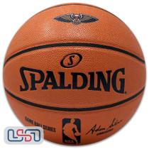 New Orleans Pelicans Spalding NBA Licensed I/O Full Size Team Logo Basketball
