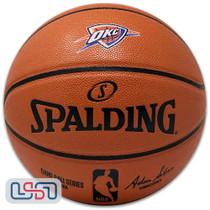 Oklahoma City Thunder Spalding NBA Licensed I/O Full Size Team Logo Basketball