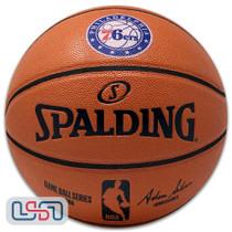 Philadelphia 76ers Spalding NBA Licensed I/O Full Size Team Logo Basketball