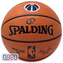 Washington Wizards Spalding NBA Licensed I/O Full Size Team Logo Basketball