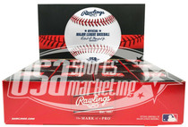 (12) Cincinnati Reds 150th Anniversary Secondary Rawlings Baseball Boxed - Dozen
