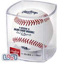 Cincinnati Reds 150th Anniversary Secondary MLB Rawlings Baseball - Cubed