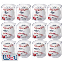 (12) Cincinnati Reds 150th Anniversary Secondary Rawlings Baseball Cubed - Dozen
