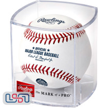 Christian Yelich Brewers 2018 NL MVP Official MLB Rawlings Baseball - Cubed