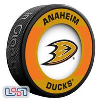 Anaheim Ducks Official NHL Retro Team Logo Souvenir Hockey Puck